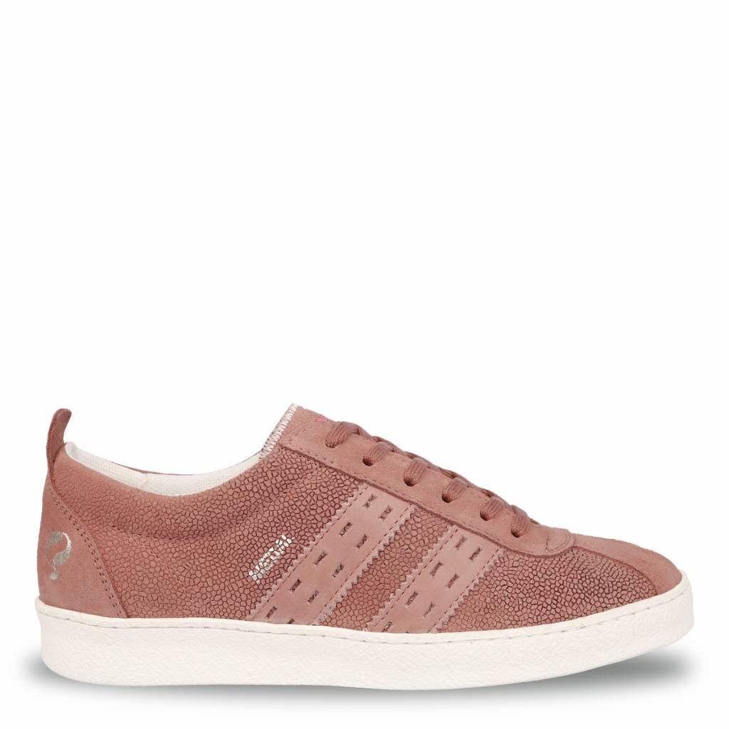 Q1905 Dames Sneaker Medal Lady Old Pink