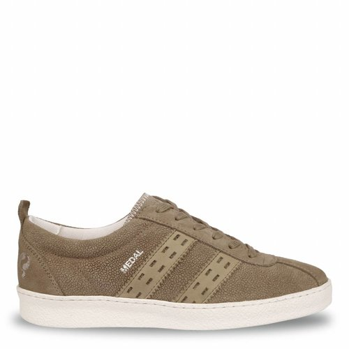 Women's Sneaker Medal Lady Taupe Grey