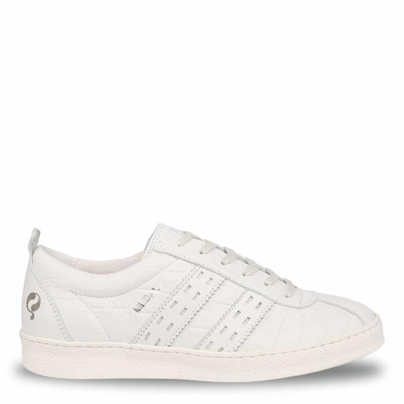 Q1905 Dames Sneaker Medal Lady White