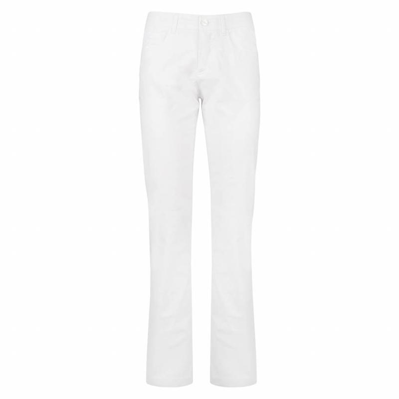 Q1905 Women's Pants Fade White