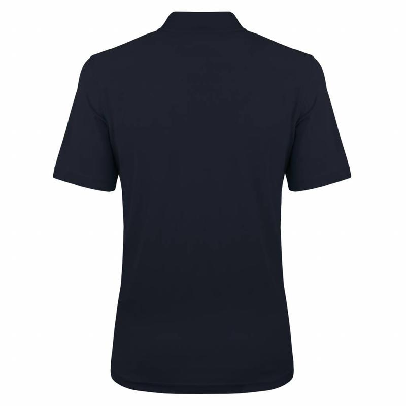 Q1905 Heren Polo JL One Deep Navy