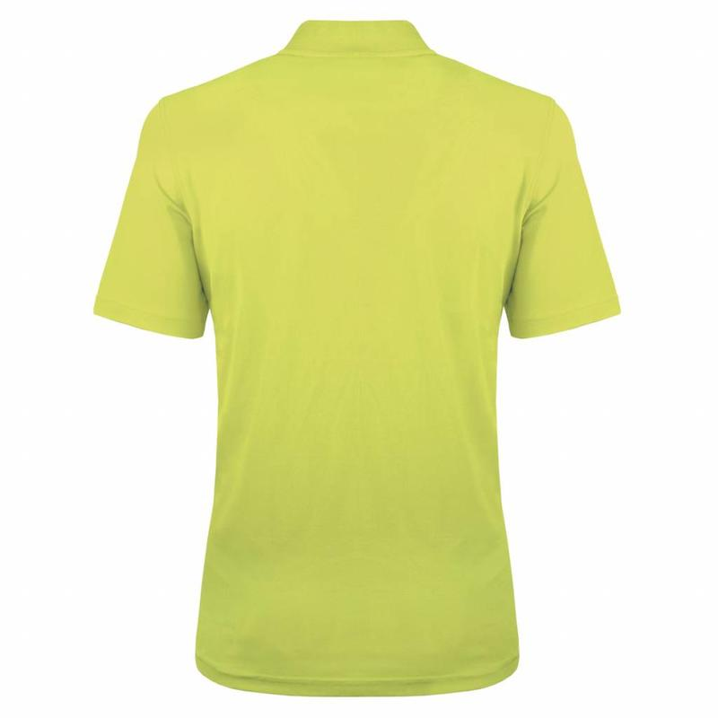 Q1905 Heren Polo JL One Soft Lime