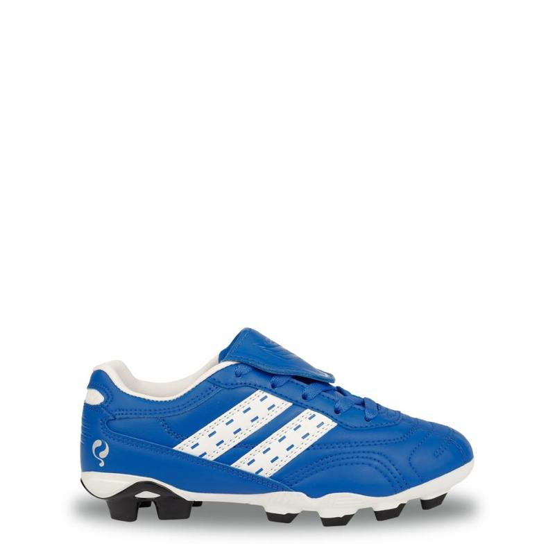 Q1905 Voetbalschoenen Goal JR AG Lace Skydiver / White (28-33)