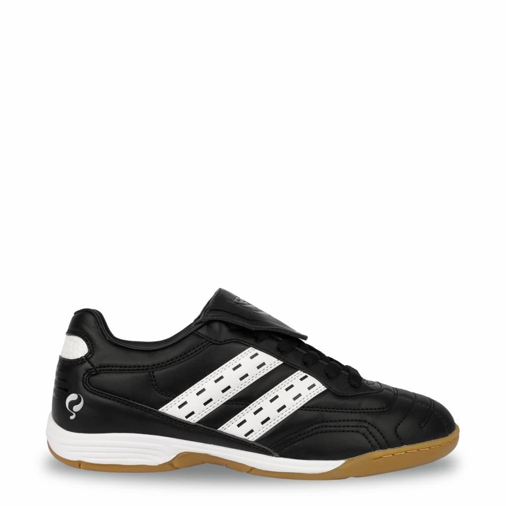 Q1905 Voetbalschoenen Goal JR Indoor Lace Black / White (34-39)