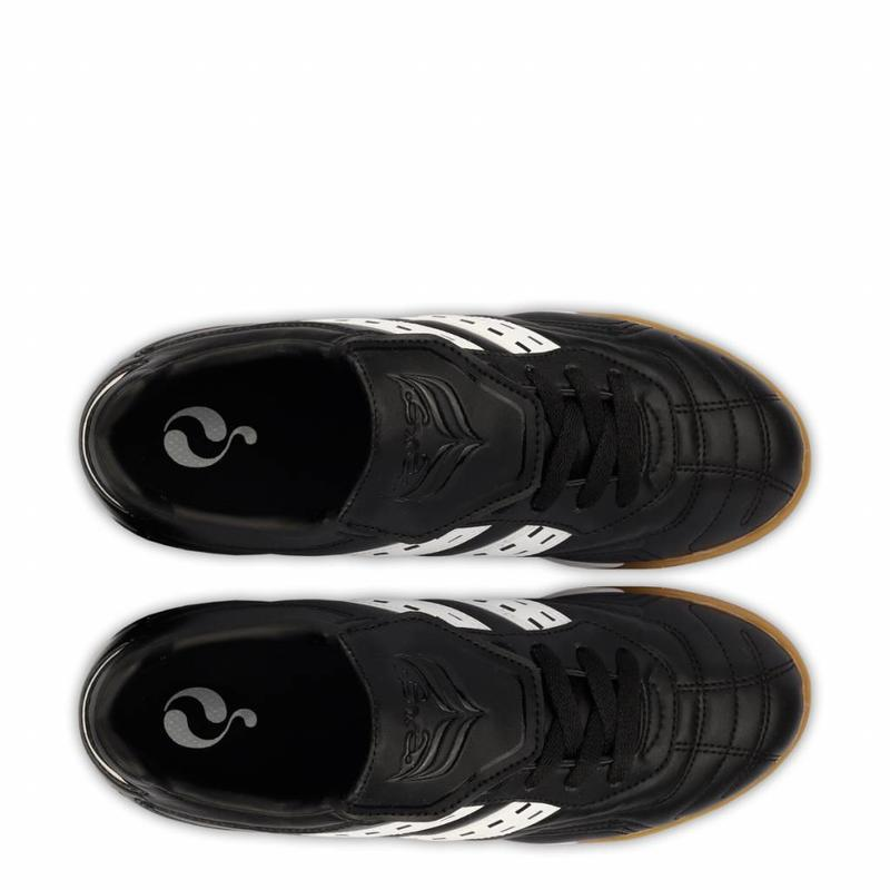 Q1905 Football Boot Goal JR Indoor Lace Black / White
