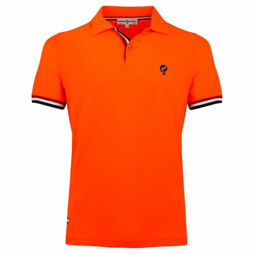Men's Polo Joost Luiten Neon Orange