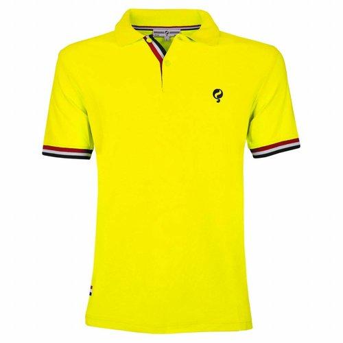 Heren JL Polo Neon Yellow