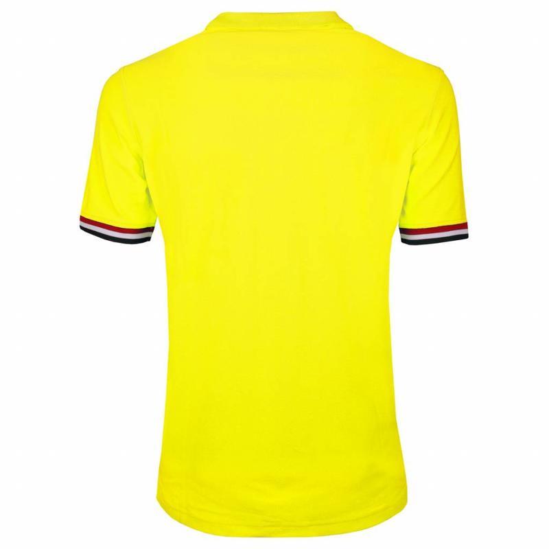 Q1905 Heren JL Polo Neon Yellow