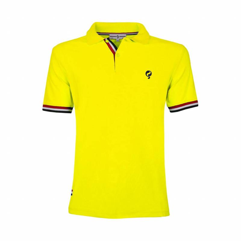 Q1905 Kids JL Polo Neon Yellow