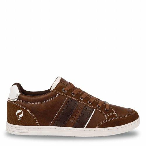 Men's Sneaker Brody Cognac / Dk Brown