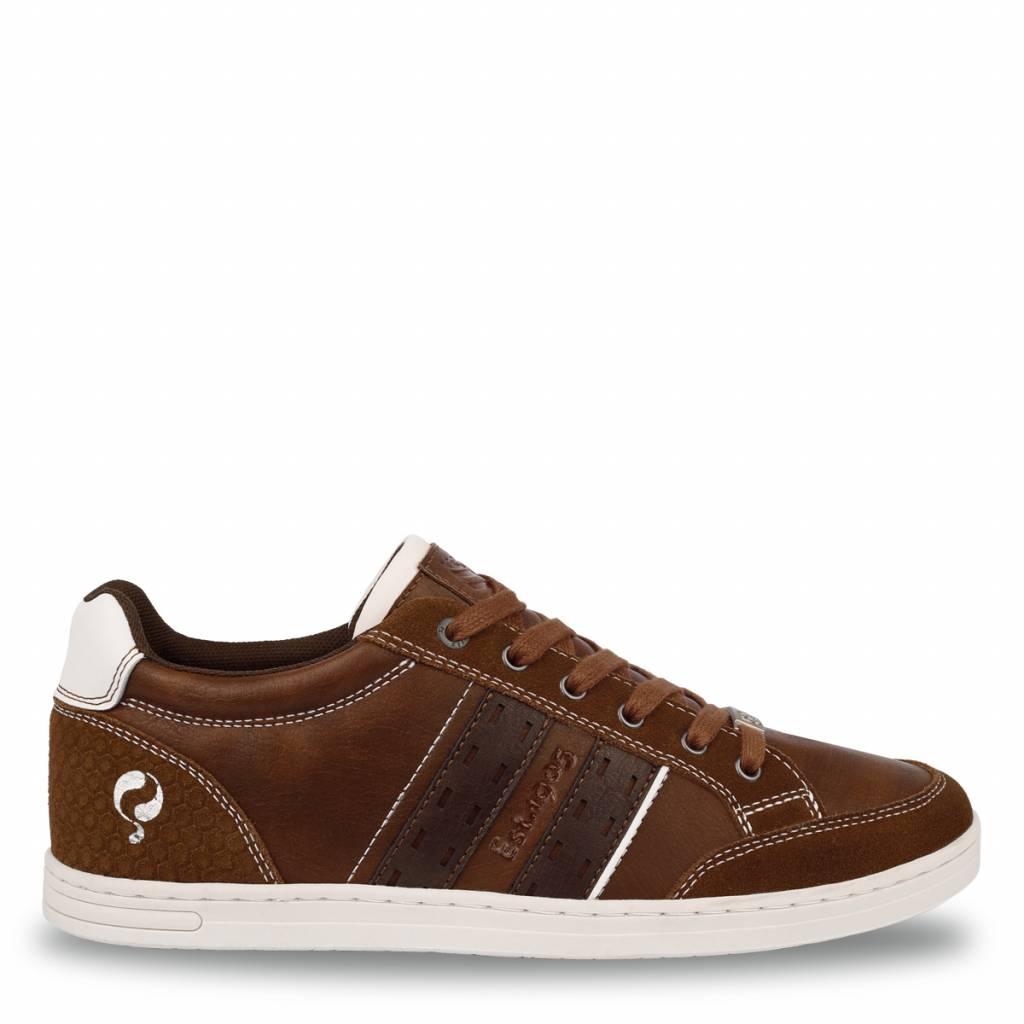 Q1905 Heren Sneaker Brody Cognac - Dk Brown