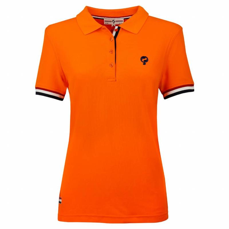 Q1905 Dames Polo Joost Luiten Dutch Orange