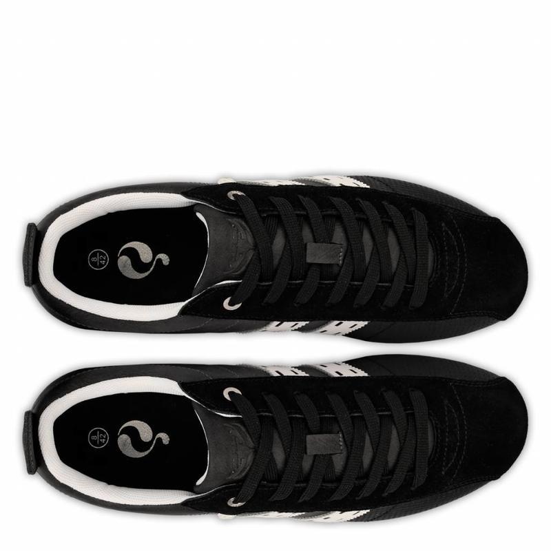 Q1905 Men's Sneaker Typhoon SP Black / Cloud Dancer
