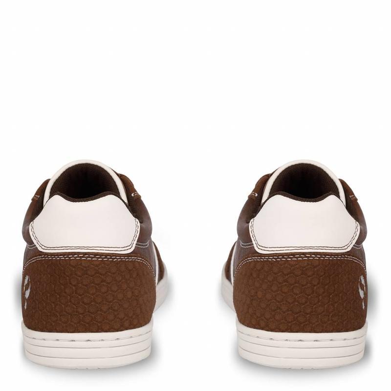Q1905 Heren Sneaker Brody Cognac / Dk Brown