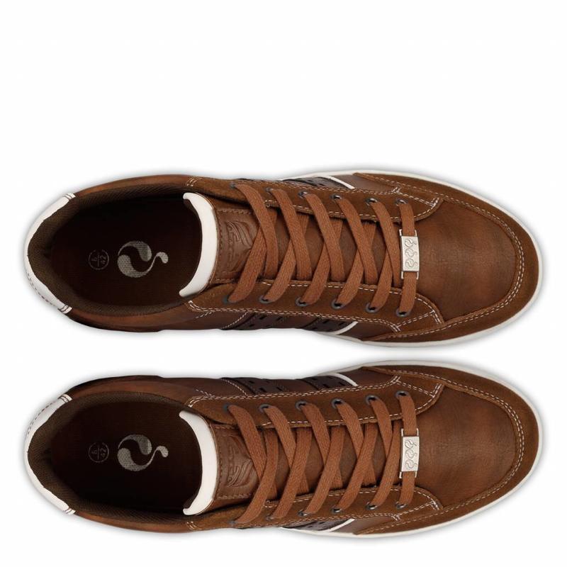Q1905 Men's Sneaker Brody Cognac / Dk Brown