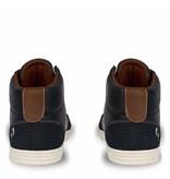 Q1905 Heren Sneaker Bryce Deep Navy / Cognac
