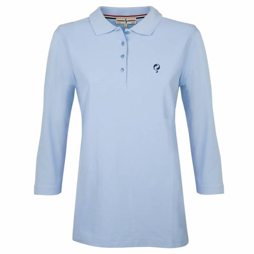 Women's Polo Distance Lt Azul