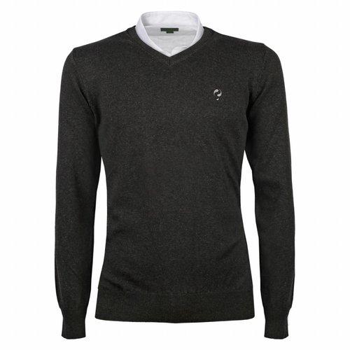 Heren Pullover V-neck Marden Antracite