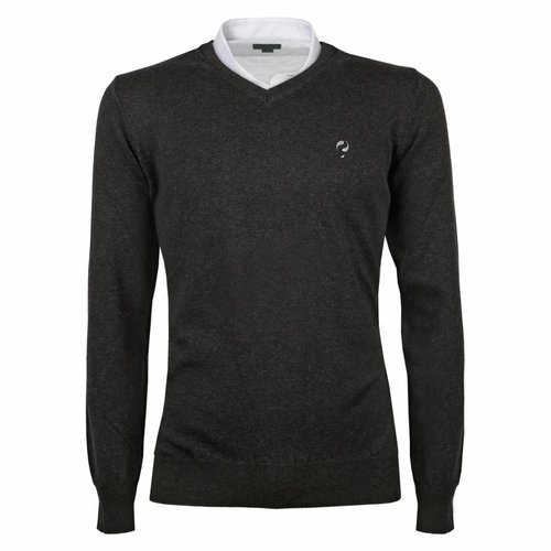 Men's Pullover V-neck Marden Antracite