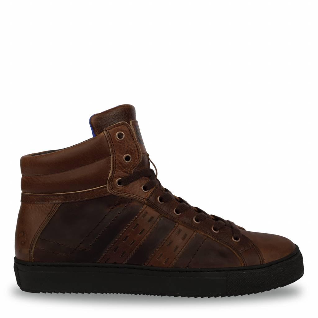 Q1905 Heren Sneaker Mason Mid Brown - Cognac