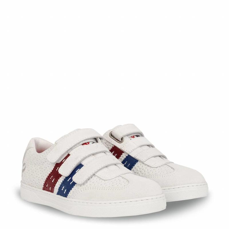 Q1905 Kids Sneaker Legend '69 JR Ice / Skydiver-Red