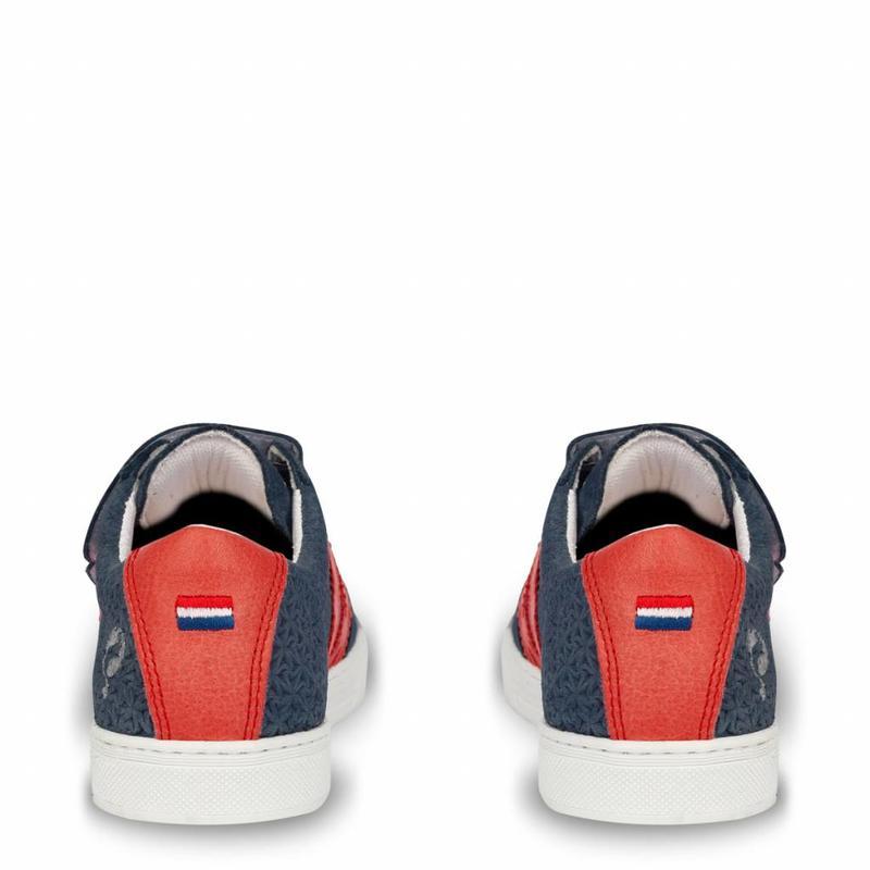 Q1905 Kids Sneaker Legend '69 JR Jeans Blue / Red