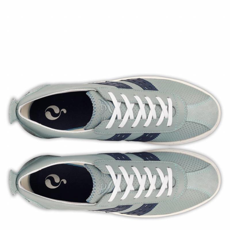 Q1905 Heren Sneaker Medal Sky Blue / Jeans Blue