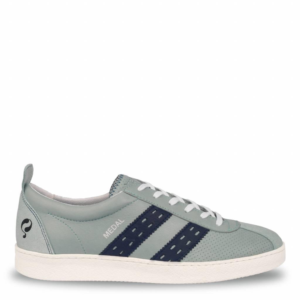 Q1905 Heren Sneaker Medal Sky Blue - Jeans Blue