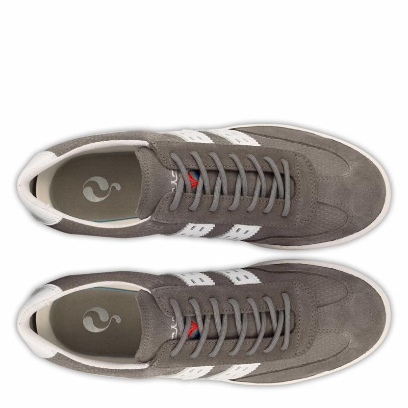 Q1905 Men's Sneaker Legend '69 Stone Grey / White