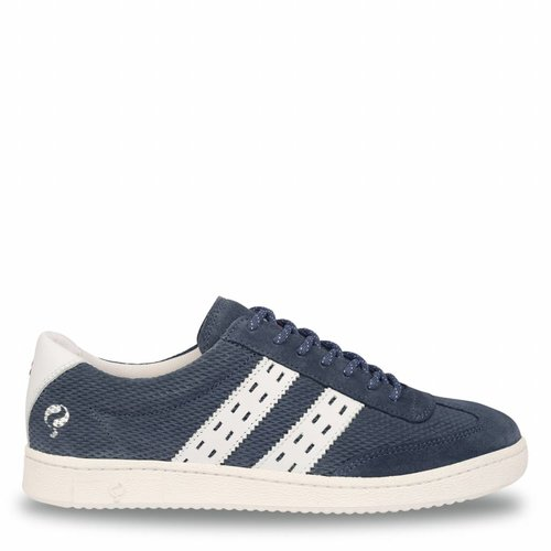 Heren Sneaker Legend '69 Jeans Blue / White