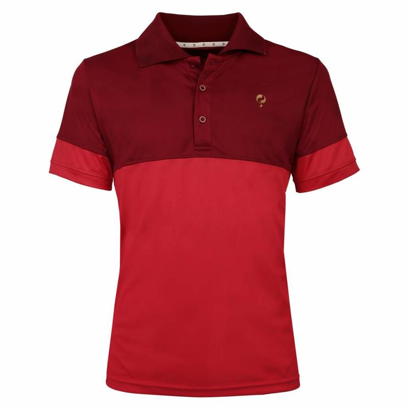 Q1905 Men's Polo Pique Q Sundried Tomatoes