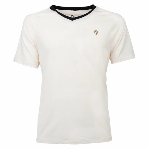 Men's Tee Brush mesh Q Snow White