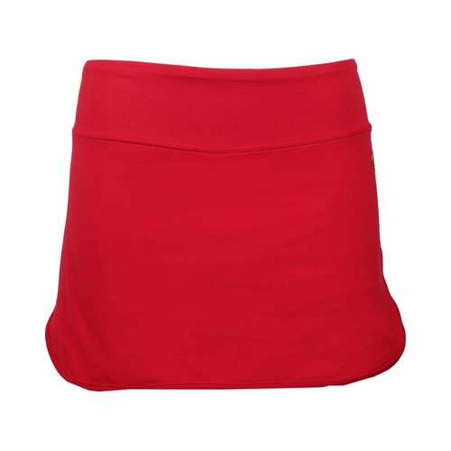 Dames Skort Brush Q Poinsettia