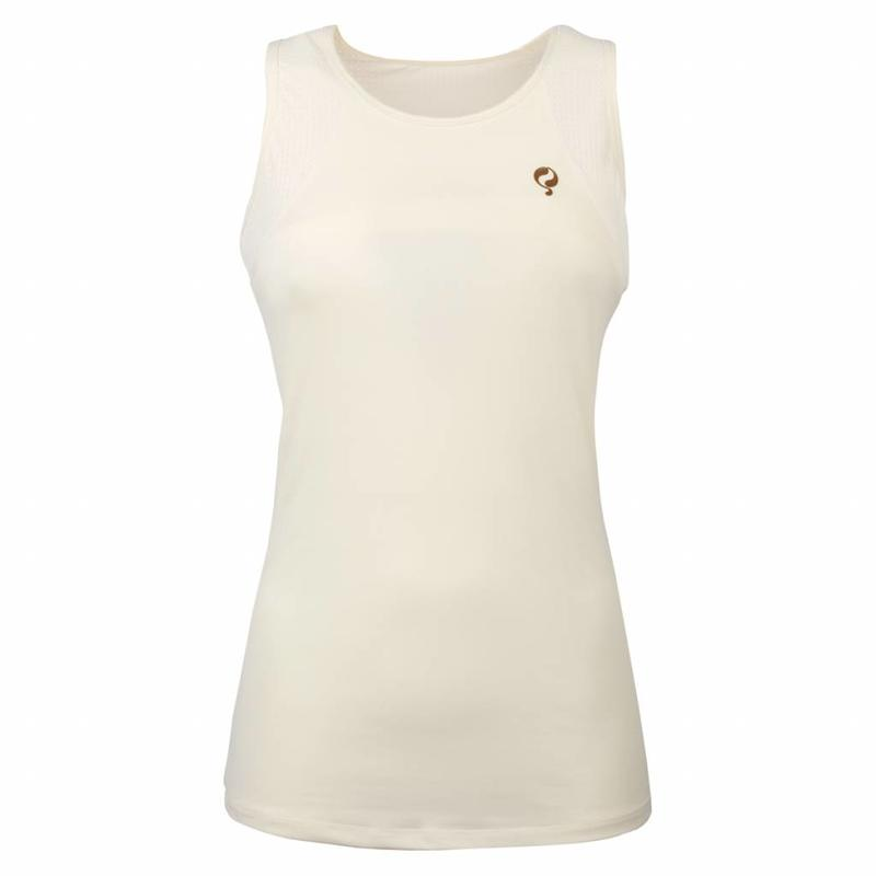 Q1905 Women's Tanktop Brush Q Snow White