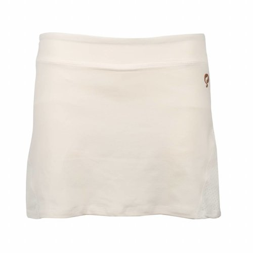 Dames Skort Brush Mesh Q Snow White