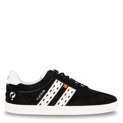 Men's Sneaker Platinum Black / White
