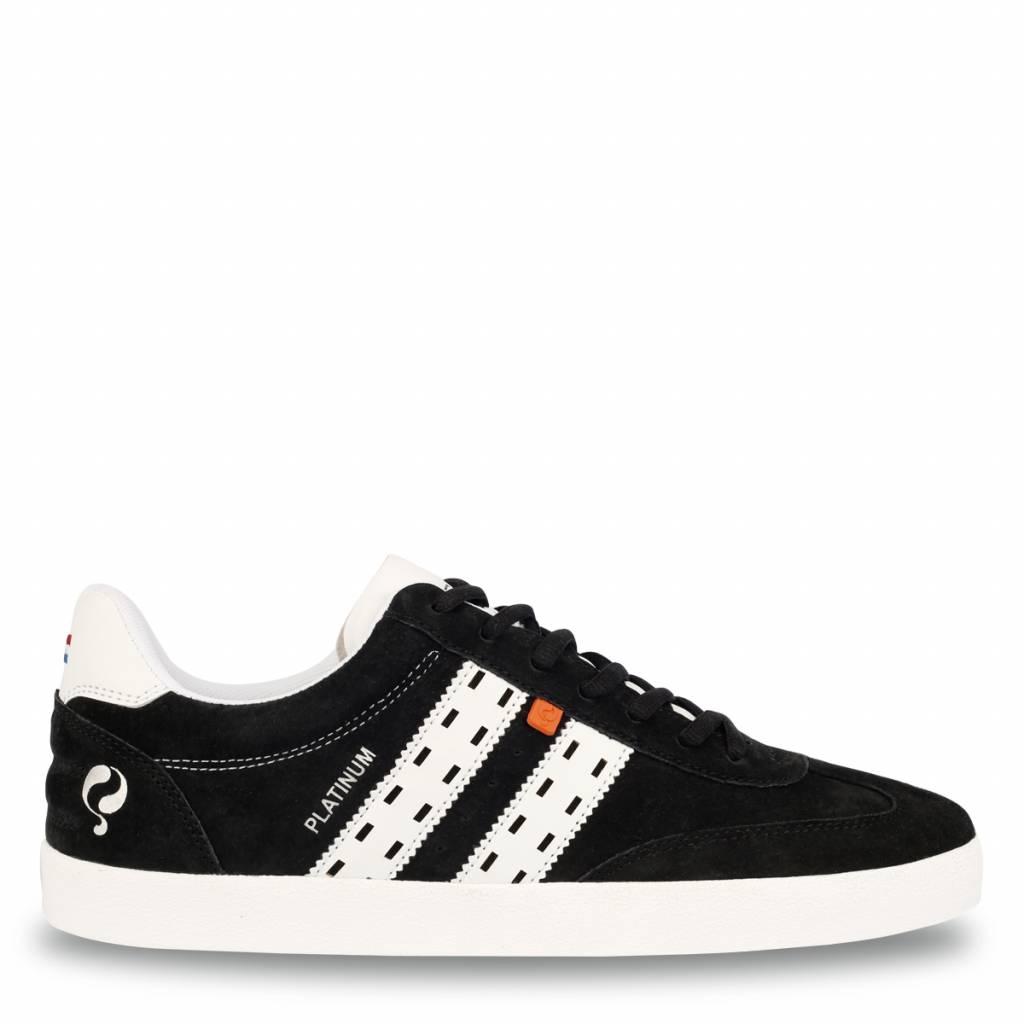 Q1905 Heren Sneaker Platinum Black - White