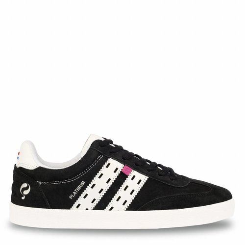 Dames Sneaker Platinum Lady Black / White