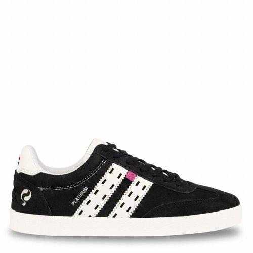 Women's Sneaker Platinum Lady Black / White