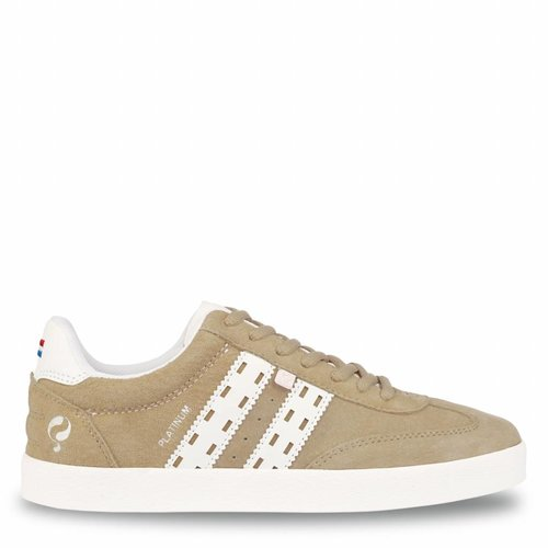 Women's Sneaker Platinum Lady Taupe / White