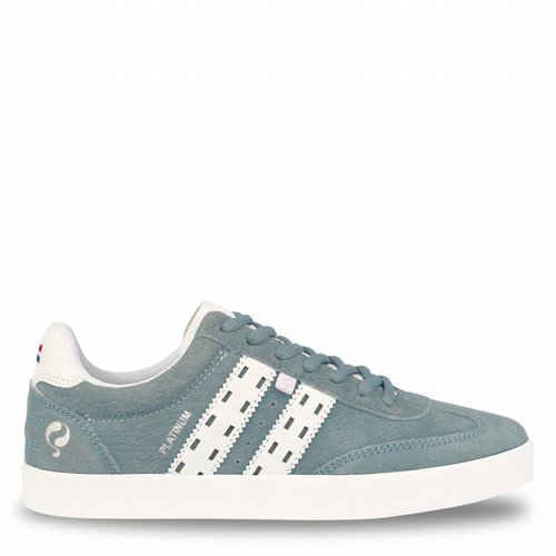 Dames Sneaker Platinum Lady Sky Blue / White