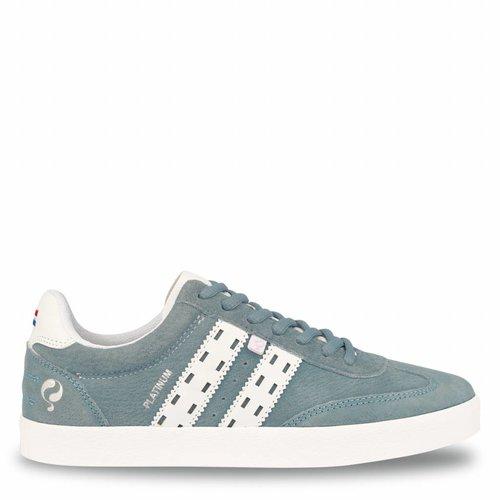 Women's Sneaker Platinum Lady Sky Blue / White