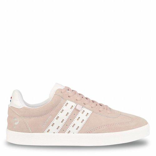Dames Sneaker Platinum Lady Violet Rose / White