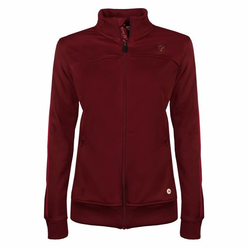 Dames Tech Jacket Q Sundried Tomatoes