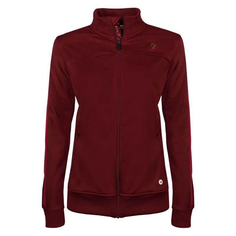 Q1905 Dames Tech Jacket Q Sundried Tomatoes
