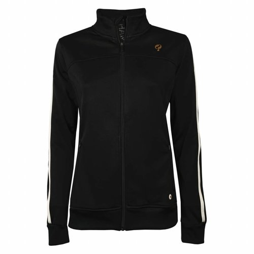 Dames Tech Jacket Q Blue Graphite