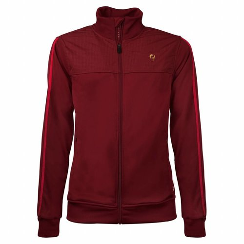 Heren Tech Jacket Q Sundried Tomatoes