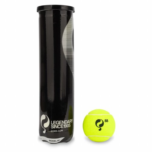 Q-Tennisbal 88 4pcs/can Yellow