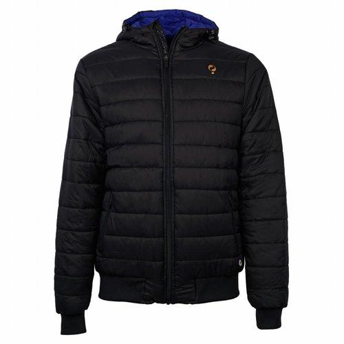 Heren Padded Jacket Q Blue Graphite