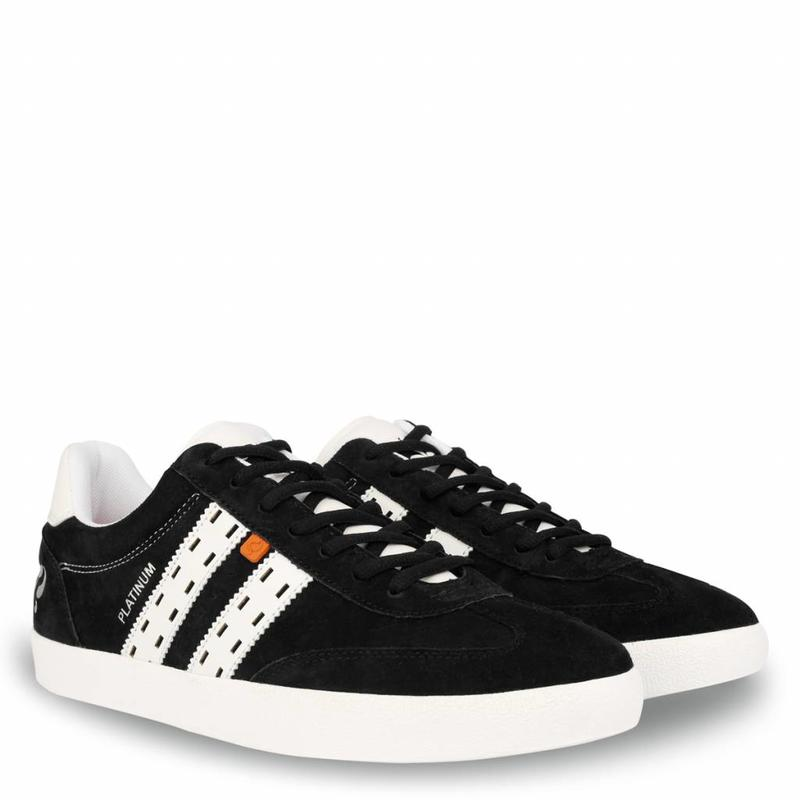 Q1905 Heren Sneaker Platinum Black / White